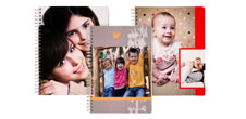 Personalise your own Photo Notebook