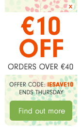 €10 OFF orders over €40