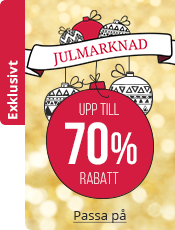 Julmarknad Upp till 70% rabatt