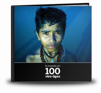 Le monde en 100 vies âges