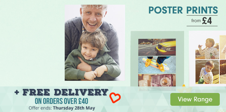 Poster Prints From £4