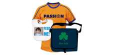 Create your own photo fashion from our extensive range of bags, hats, t-shirts and more