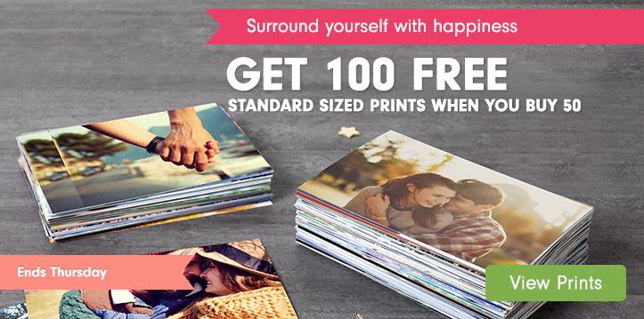 100 Free Standard Prints