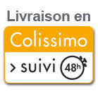 Livraison en Colissimo suivi 48h