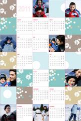 Collage Calendar