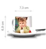 Onze koffie koppen in detail