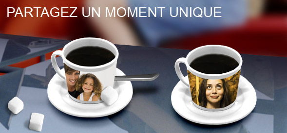 Tasse  caf : Partagez un moment unique