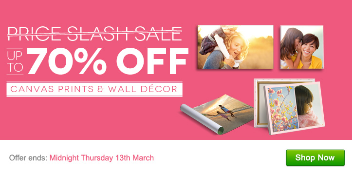 Up to 70% OFF Canvas Prints & Wall Decor