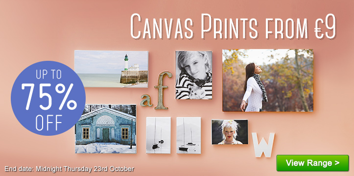 Canvas Prints from €9