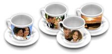 Pack de 4 Tasses à café