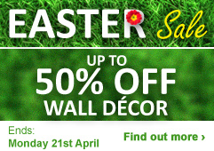 Up to 50% OFF Wall Décor
