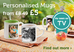 Personalised Mugs - From £5