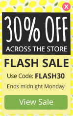 FLASH SALE - 30% OFF across the store
