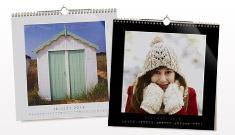 Kvadratisk Fotokalender : 30% rabat