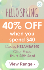 40% off when you spend $40