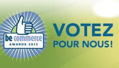BeCommerce : votez pour nous !