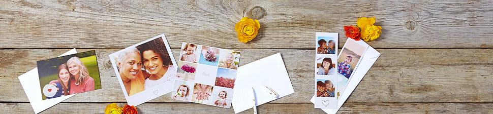 Einladungen und Fotokarten für jeden Anlass