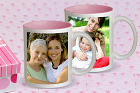 Pink Photo Mug