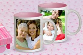 Pink Photo Mug
