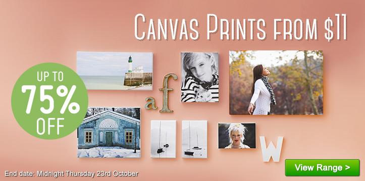 Canvas Prints from $11