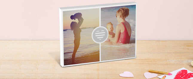 mother's day collage canvas print