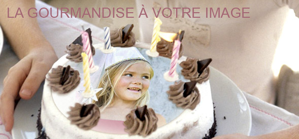 Les photos sur gateau, pour les gourmands !