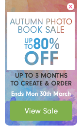 Autumn Photo Book Sale – up to 80% off