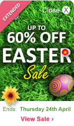 Easter Sale - Up to 60%  OFF