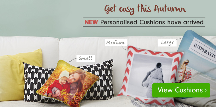 New Personalised Cushions
