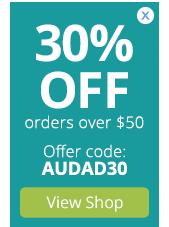 30% OFF orders $50