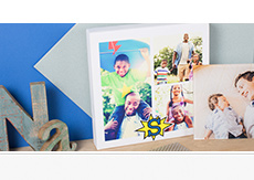 Collage Canvas Prints from $15
