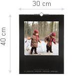 Maße des Fotokalenders Premium