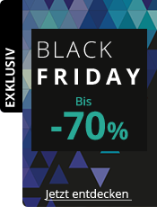 Black Friday Bis zu 70% Rabatt
