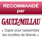 Recommand par Gault Millau