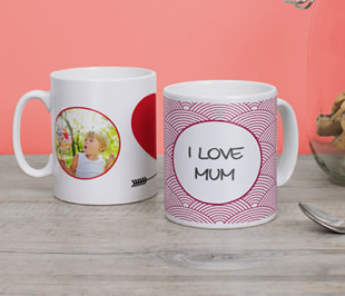mother's day photo mug