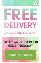 FREE Delivery on orders over €40