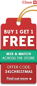 Buy 1 Get 1 Free Mix & Match Across The Store