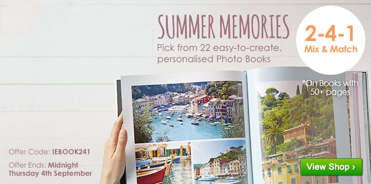 2-4-1 Mix & Match on Photo Books