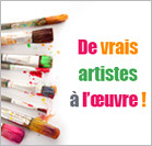 De vrais artistes  loeuvre !'