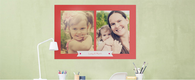 mother's day collage photo print