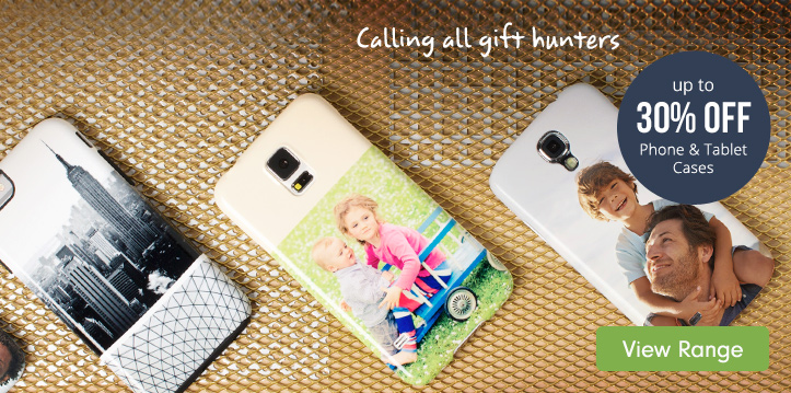 up to 30% off Phone & Tablet Cases
