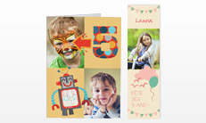 Kindergeburtstags-Einladungen