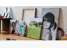 Canvas Prints from £7 + Half Price Delivery