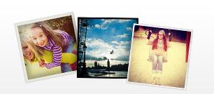Kvadratiska Instagram-foton