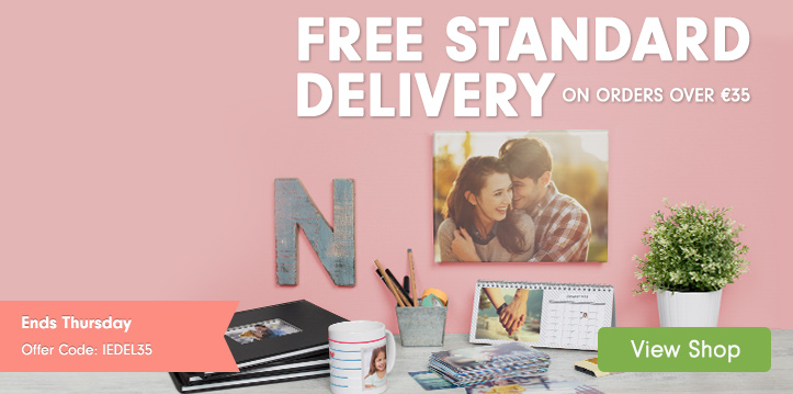 Free Standard Delivery on orders over €35