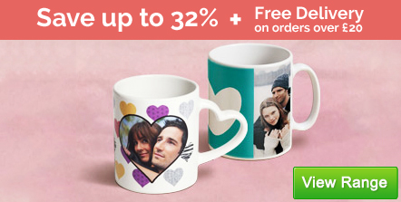 Mugs - From £6.00, Save up to 32%