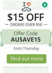 $15 OFF orders over $50
