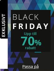 Black Friday Upp till 70% rabatt