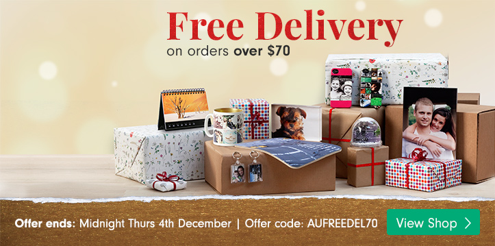 Free delivery on orders over $70