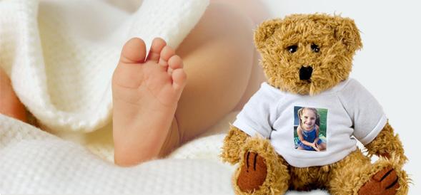 Knuffelberen als foto cadeaus